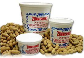Zimmerman's Natural Creamy Peanut Butter