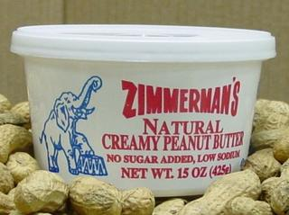 Zimmerman's Natural Creamy Peanut Butter