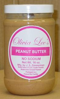 Zimmerman's Homemade Natural Creamy No Salt Peanut Butter