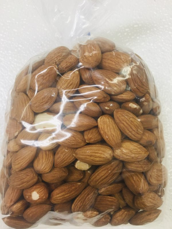 Raw Natural Almonds 16 oz