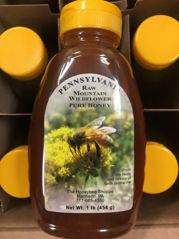 16 oz Wildflower Honey